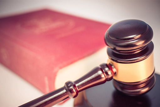Image of book  and gavel