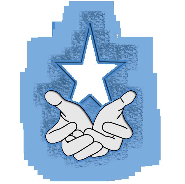 Daydreamer Initiative Prayer Hands Star Logo